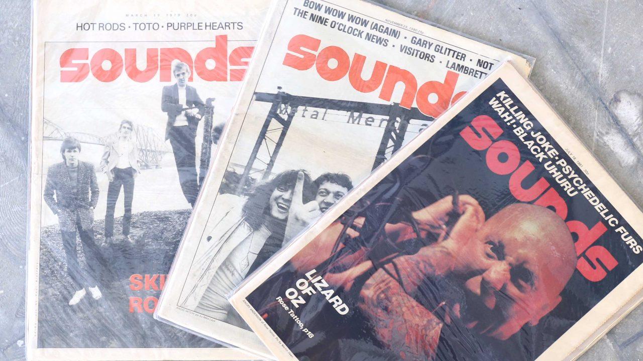 sounds magazine (サウンズマガジン) | イギリスのロック&ポップスのマガジン