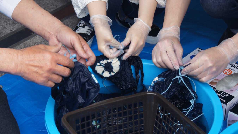藍染染色工程