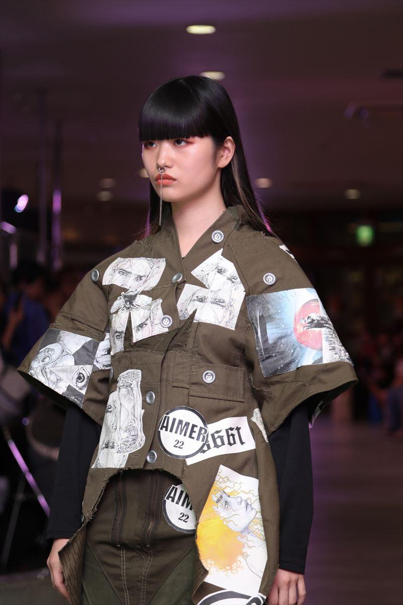 上田安子服飾専門学校ファッションショー9