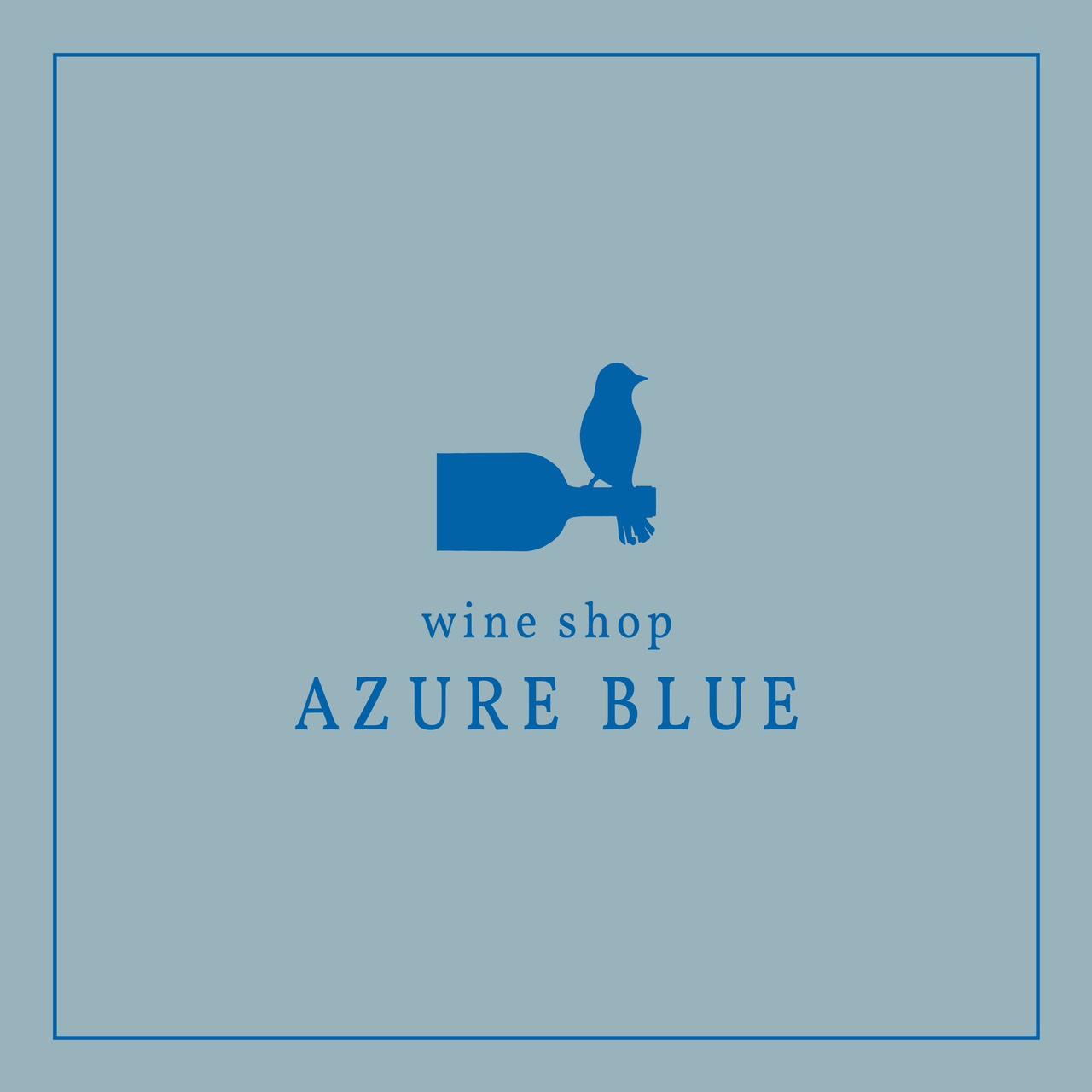 AZURE BLUE バナー