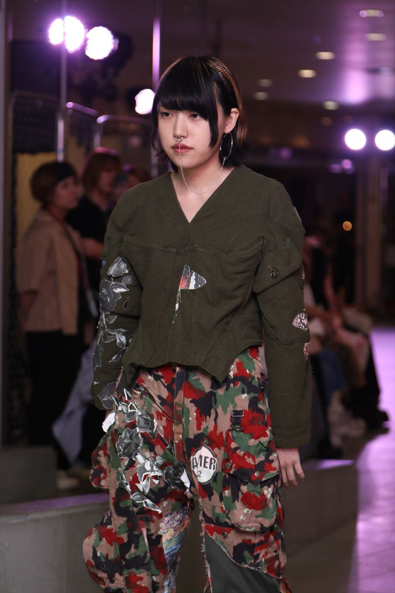 上田安子服飾専門学校ファッションショー8