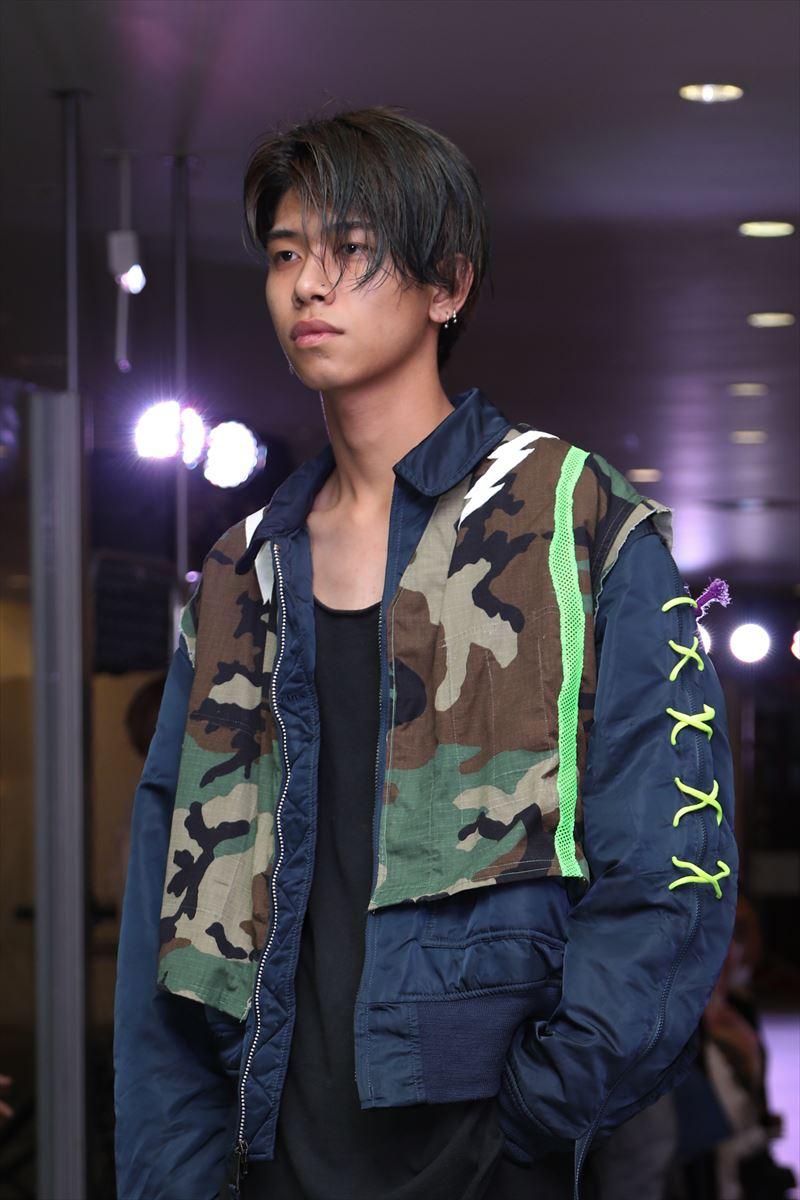 上田安子服飾専門学校ファッションショー12