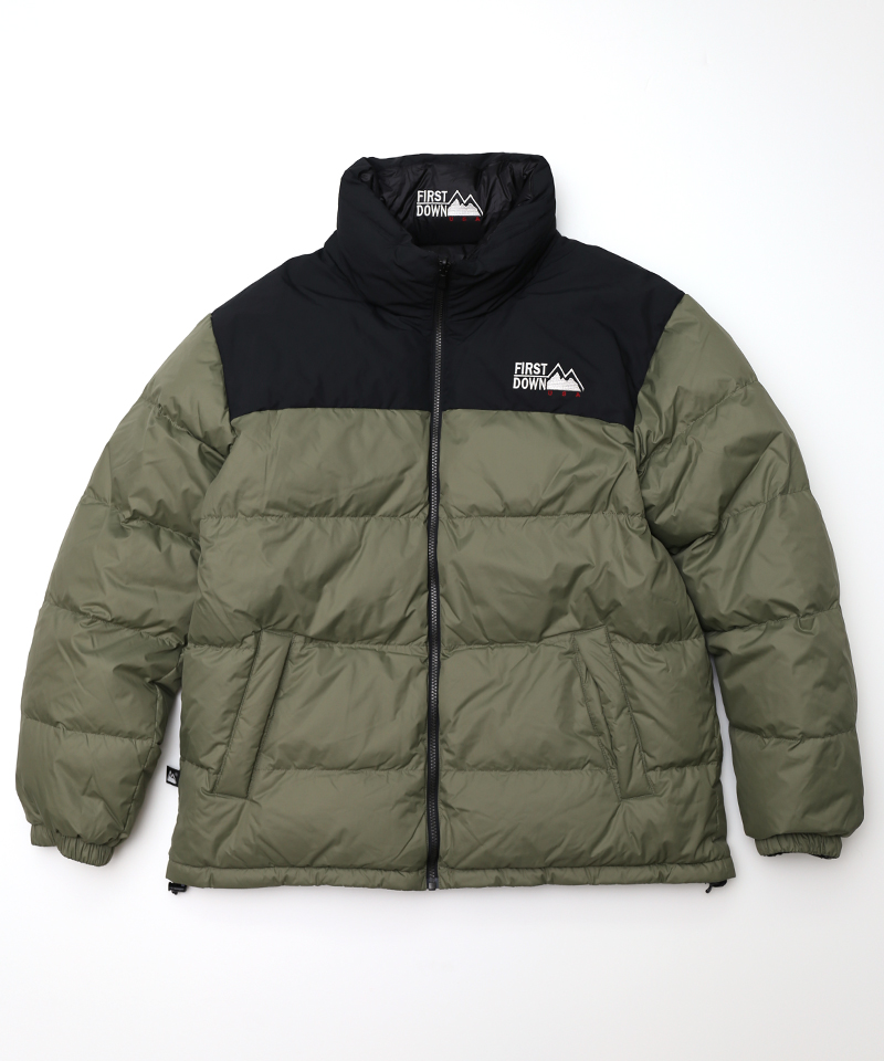 [FIRST DOWN] Riversible Down jacket