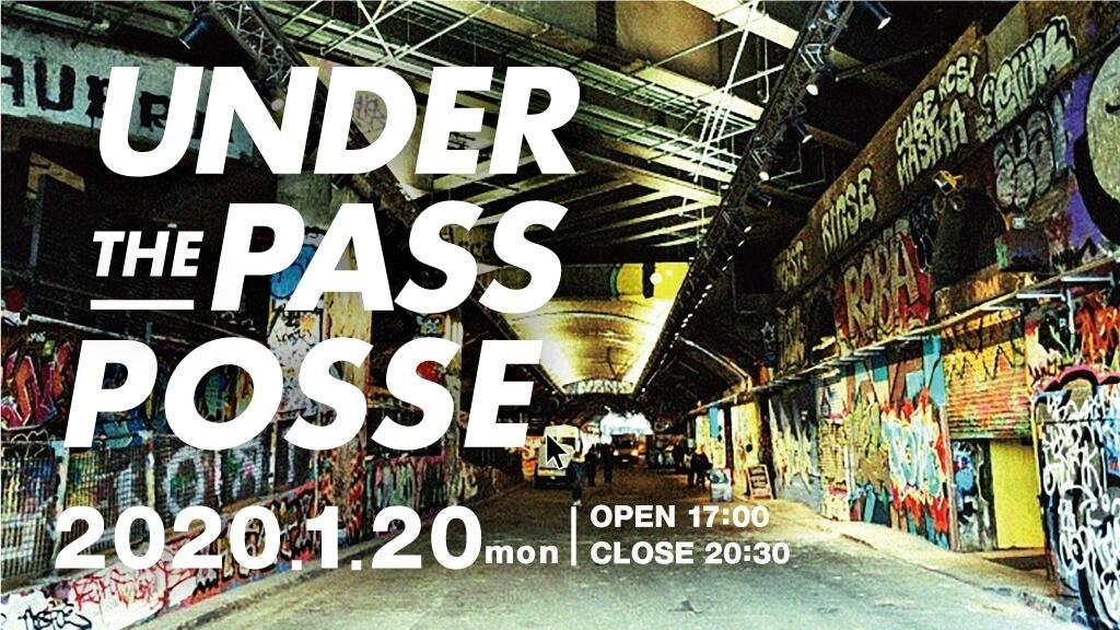 under pass バナー