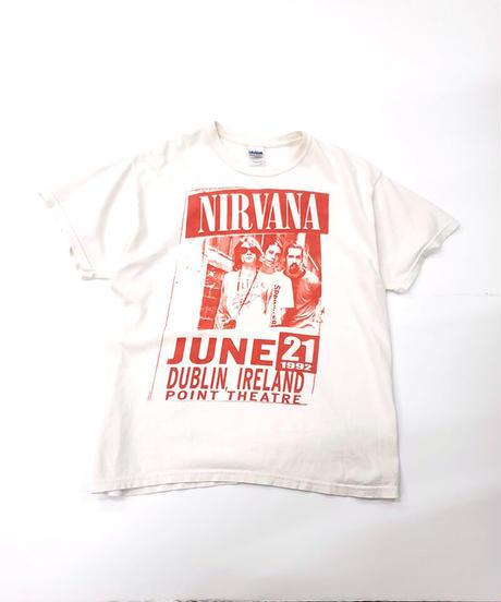 [Used] Band Tee 1(Nirvana/Red)