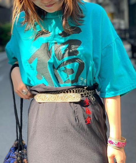 "【Used】""福"" Printed T-shirts"
