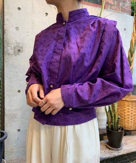 Used】L/S Lace Shirts 1