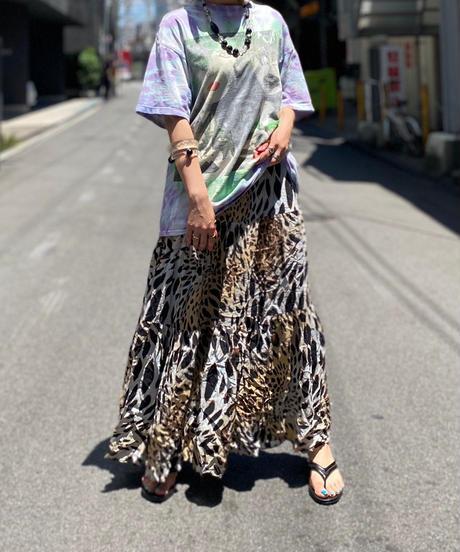 【Used】Leopard Print Long Skirt 2