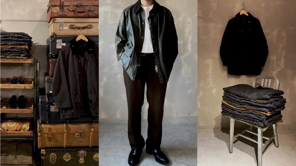 Barbour | Vintage Oiled Jacket
