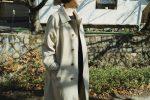 """mori kinsei"" 「時代を問わず、着る人を引き立てるコート」"