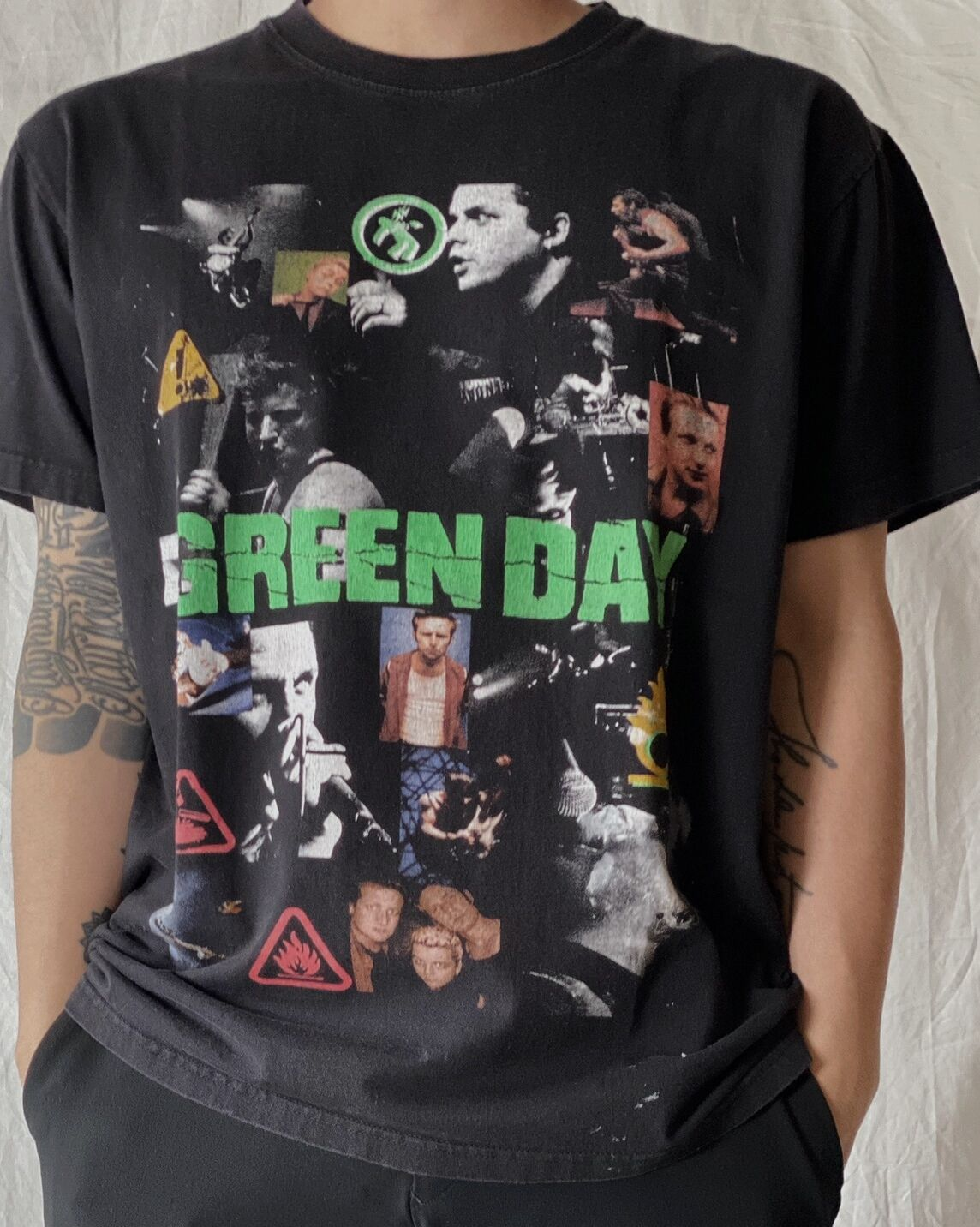 【USED】 S/S T-shirt GREEN DAY