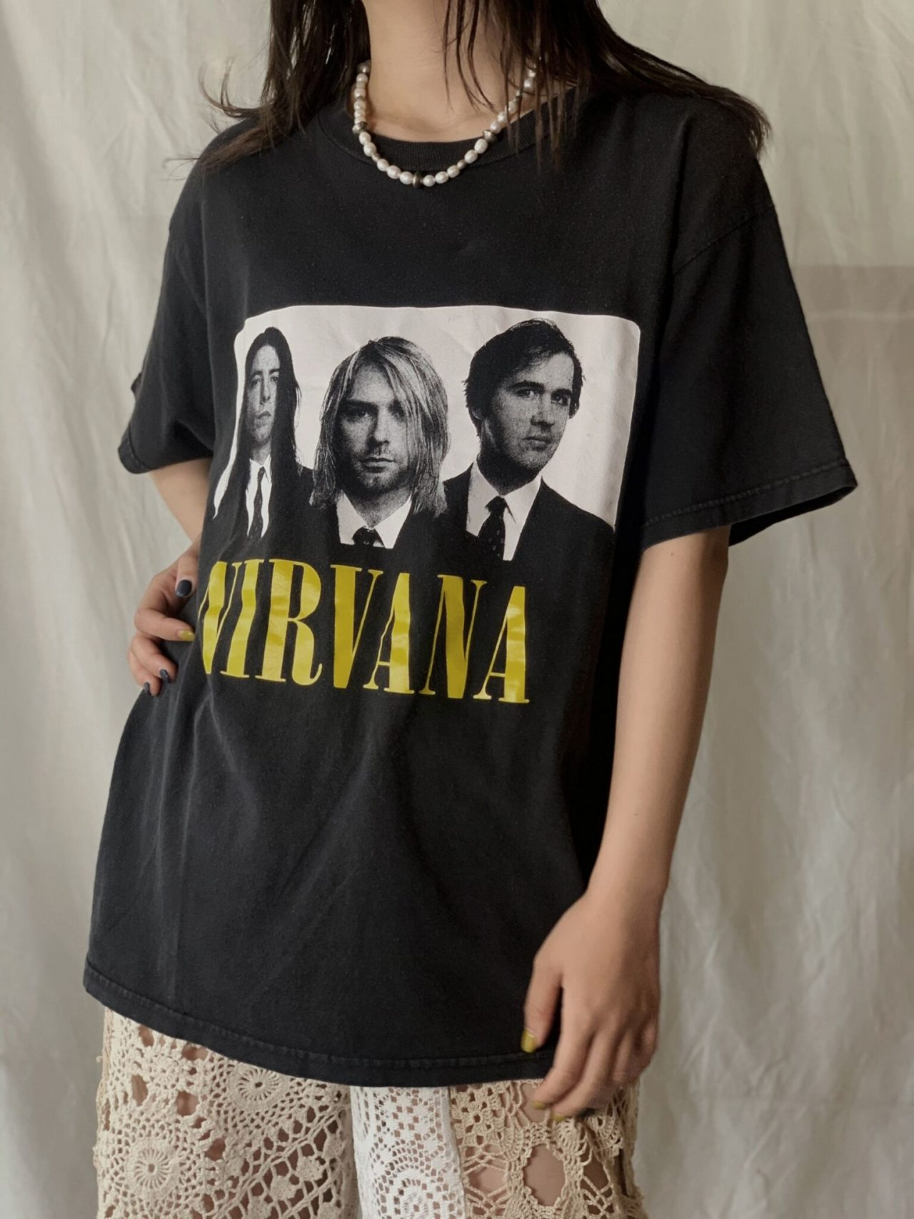 【USED】 S/S T-shirt NIRVANA
